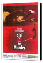 Dial M For Murder - 27 x 40 Movie Poster - Style A - Museum Wrapped Canvas