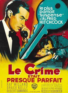 Dial M For Murder - 11 x 17 Movie Poster - French Style B