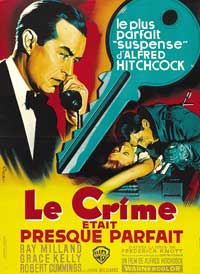 Dial M For Murder - 43 x 62 Movie Poster - French Style A