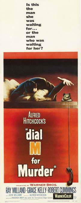 Dial M For Murder - 14 x 36 Movie Poster - Insert Style A