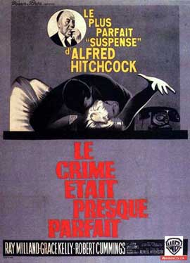 Dial M For Murder - 11 x 17 Movie Poster - French Style C
