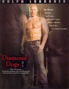 Diamond Dogs - 11 x 17 Movie Poster - Style A