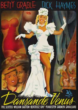 Diamond Horseshoe - 27 x 40 Movie Poster - German Style A