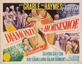 Diamond Horseshoe - 22 x 28 Movie Poster - Half Sheet Style A