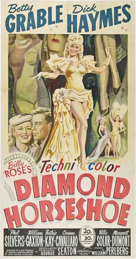 Diamond Horseshoe - 20 x 40 Movie Poster - Style A