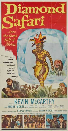 Diamond Safari - 20 x 40 Movie Poster - Style A