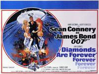 Diamonds Are Forever - 11 x 14 Movie Poster - Style A