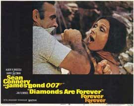 Diamonds Are Forever - 11 x 14 Movie Poster - Style D