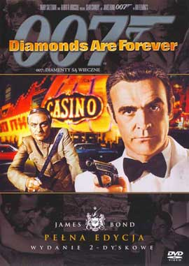 Diamonds Are Forever - 11 x 17 Movie Poster - Polish Style A
