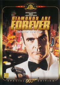 Diamonds Are Forever - 11 x 17 Movie Poster - Danish Style A