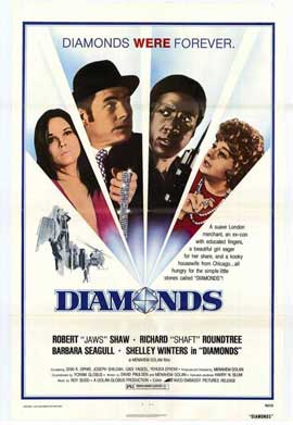 Diamonds - 11 x 17 Movie Poster - Style A