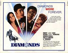 Diamonds - 11 x 14 Movie Poster - Style A