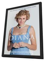 Diana - 11 x 17 Movie Poster - Canadian Style A - in Deluxe Wood Frame