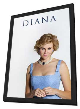 Diana - 27 x 40 Movie Poster - Style A - in Deluxe Wood Frame