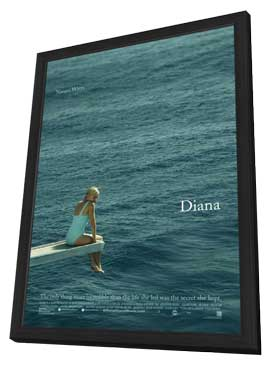 Diana - 11 x 17 Movie Poster - Style B - in Deluxe Wood Frame