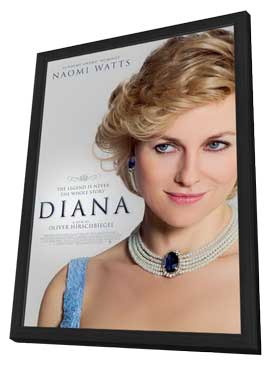 Diana - 11 x 17 Movie Poster - Style C - in Deluxe Wood Frame