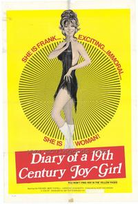 Diary of 19th Century Joy Girl - 11 x 17 Movie Poster - Style A
