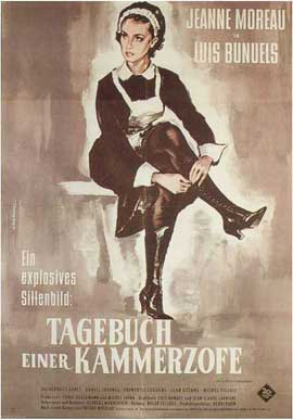 Diary of a Chambermaid - 11 x 17 Movie Poster - German Style A