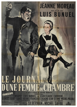 Diary of a Chambermaid - 11 x 17 Movie Poster - French Style A