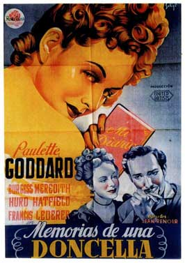 Diary of a Chambermaid - 11 x 17 Movie Poster - Spanish Style A