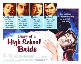 Diary of a High School Bride - 22 x 28 Movie Poster - Half Sheet Style A