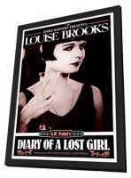 Diary of a Lost Girl - 11 x 17 Movie Poster - Style D - in Deluxe Wood Frame