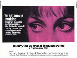 Diary of a Mad Housewife - 11 x 14 Movie Poster - Style A