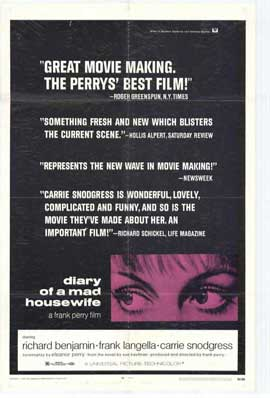 Diary of a Mad Housewife - 27 x 40 Movie Poster - Style A