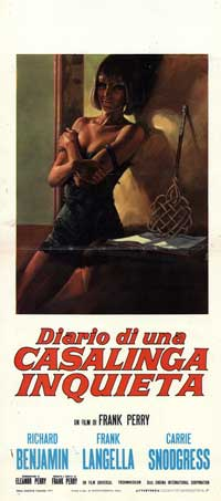 Diary of a Mad Housewife - 13 x 28 Movie Poster - Italian Style A