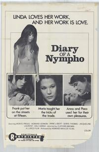 Diary of a Nympho - 27 x 40 Movie Poster - Style A