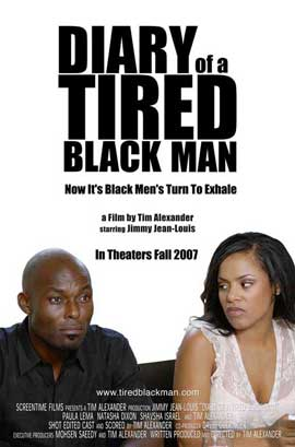 Diary of a Tired Black Man - 11 x 17 Movie Poster - Style A