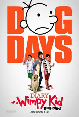 Diary of a Wimpy Kid: Dog Days - DS 1 Sheet Movie Poster - Style A