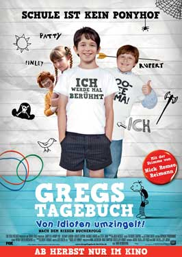 Diary of a Wimpy Kid - 27 x 40 Movie Poster - German Style A