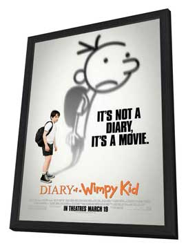Diary of a Wimpy Kid - 27 x 40 Movie Poster - Style A - in Deluxe Wood Frame