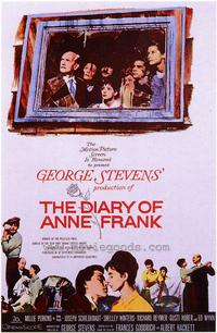 Diary of Anne Frank - 43 x 62 Movie Poster - Bus Shelter Style A
