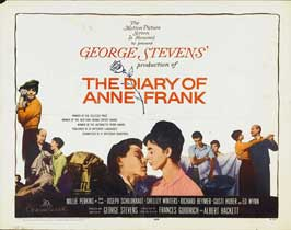 Diary of Anne Frank - 22 x 28 Movie Poster - Half Sheet Style A