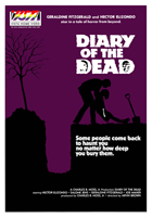 Diary of the Dead - 43 x 62 Movie Poster - Bus Shelter Style B