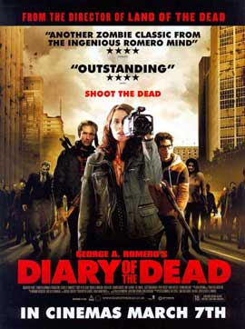 Diary of the Dead - 27 x 40 Movie Poster - UK Style A