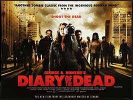 Diary of the Dead - 30 x 40 Movie Poster UK - Style A