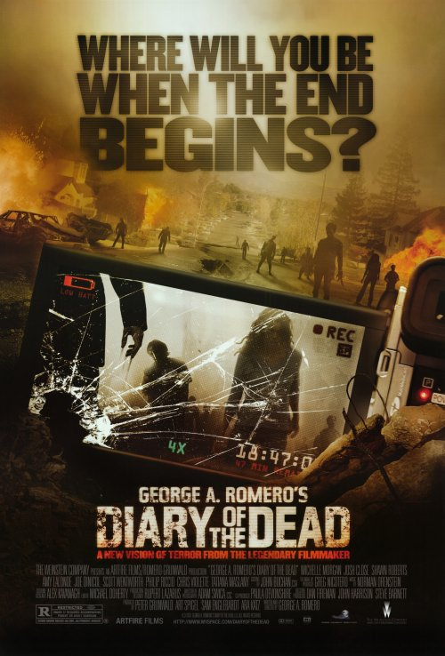 Diary of the Dead Movie Posters From Movie Poster Shop