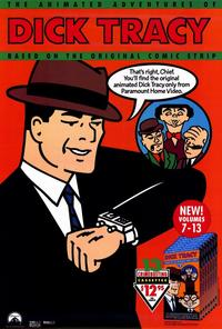 Dick Tracy - animated series - 27 x 40 Movie Poster - Style A