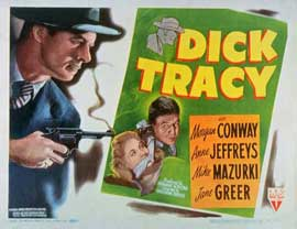 Dick Tracy, Detective - 11 x 14 Movie Poster - Style A