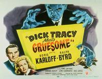Dick Tracy Meets Gruesome - 22 x 28 Movie Poster - Half Sheet Style A