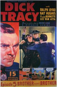 Dick Tracy - 11 x 17 Movie Poster - Style F