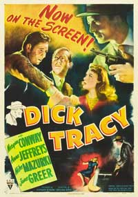 Dick Tracy - 11 x 17 Movie Poster - Style B
