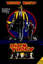 Dick Tracy - 27 x 40 Movie Poster - Style H