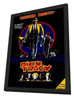 Dick Tracy - 27 x 40 Movie Poster - Style H - in Deluxe Wood Frame