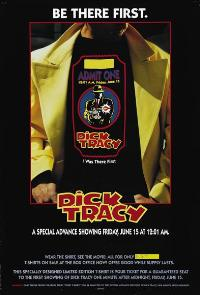 Dick Tracy - 43 x 62 Movie Poster - Bus Shelter Style A