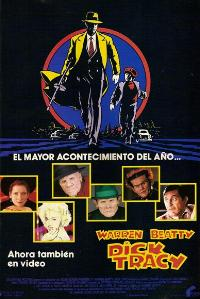 Dick Tracy - 27 x 40 Movie Poster - Spanish Style A