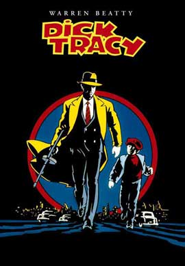Dick Tracy - 27 x 40 Movie Poster - Style K
